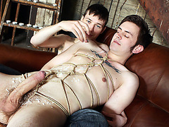 Wanked off and made to cum - Matt Madison And Zacary Starr