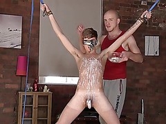 Jacob Daniels gets waxed and sucked off - Jacob Daniels And Kieron Knight