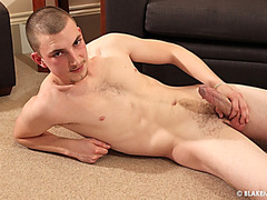 Curtis Jerks his Thick Dick