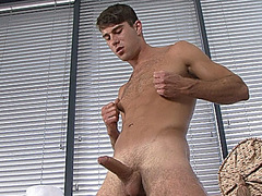 Alex P - Straight, Muscular & Massive Cock!