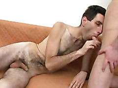 Nasty Gay Bottom Gets His Hairy Ass Fucked