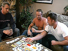 Buffed Gay Cubs Threesome