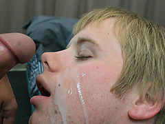 Boykakke � Cum On Blonde Twink