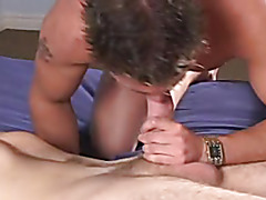 Two Handsome gays having anal action and jerk off together !
