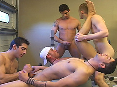 Hot Gym Orgy