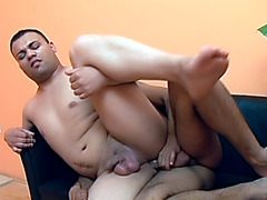 Gay Bottom Topping a Cock