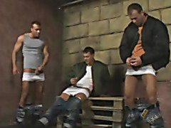 Skinhead Threesome Solo