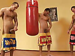 Boxing Threesome Solo