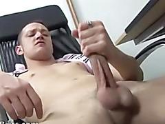 Horny Brit Twink