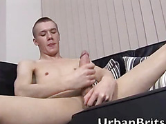 Urban Brit Clayton Jacks Off