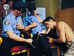 Thom Barron, Gus Grant, Alec Martinez