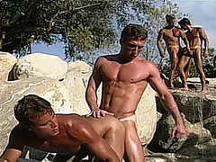 Dean Johnson, Tim Barnett, Johnny Rey, Damien, Tyler Scott