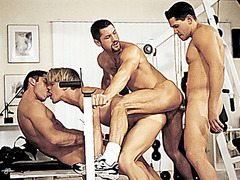 Gage Michaels, Jeremy Steel, Blake Harper & Alec Martinez Fuck