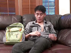 Masato Takeda is a brand new twink. In his first video, we went easy on this cute boy and just asked him to pump his penis for us and give us a nice jerk off show. Being a smooth and cute young man with a nice uncut cock and sexy smooth body, I think he has potential and am looking forward to bringing him back for more hardcore action. Hope you enjoy the video and photos of this 'UP' and 'CUMMING' twink! Download the full video in the highest quality at Japanboyz.com