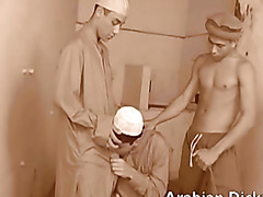 three horny arab studs